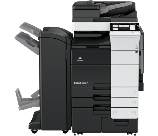 Konica Minolta C659 multifunction printer and copier