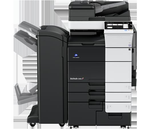 Konica Minolta C659 multifunction printer and copier