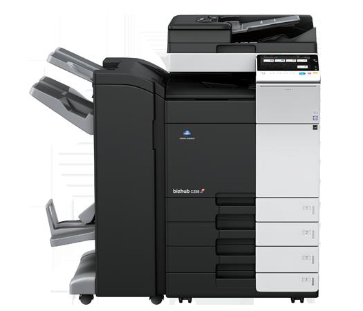 Konica Minolta multifunction printer and copier for office