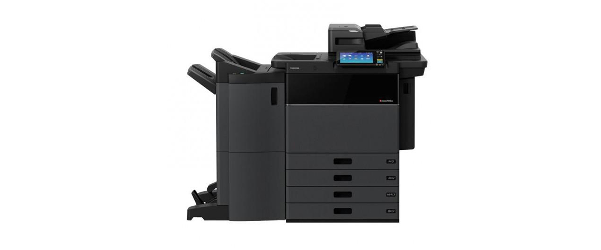 Toshiba e-STUDIO5506AC multifunction printer and copier