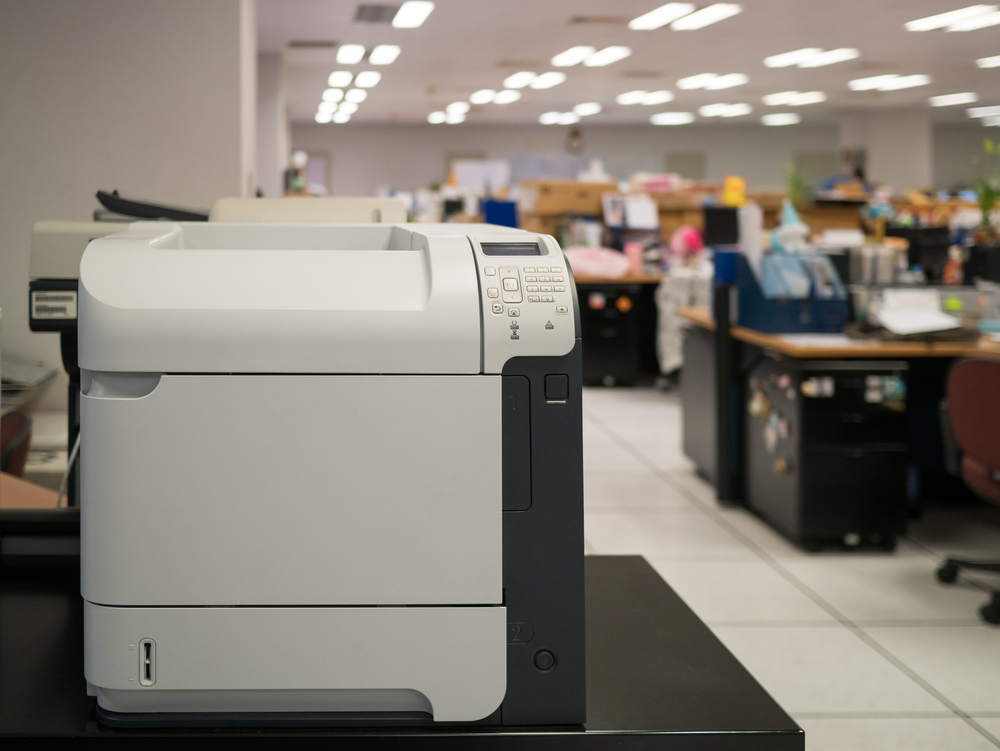 Multifunction printer and copier in law firm in toronto