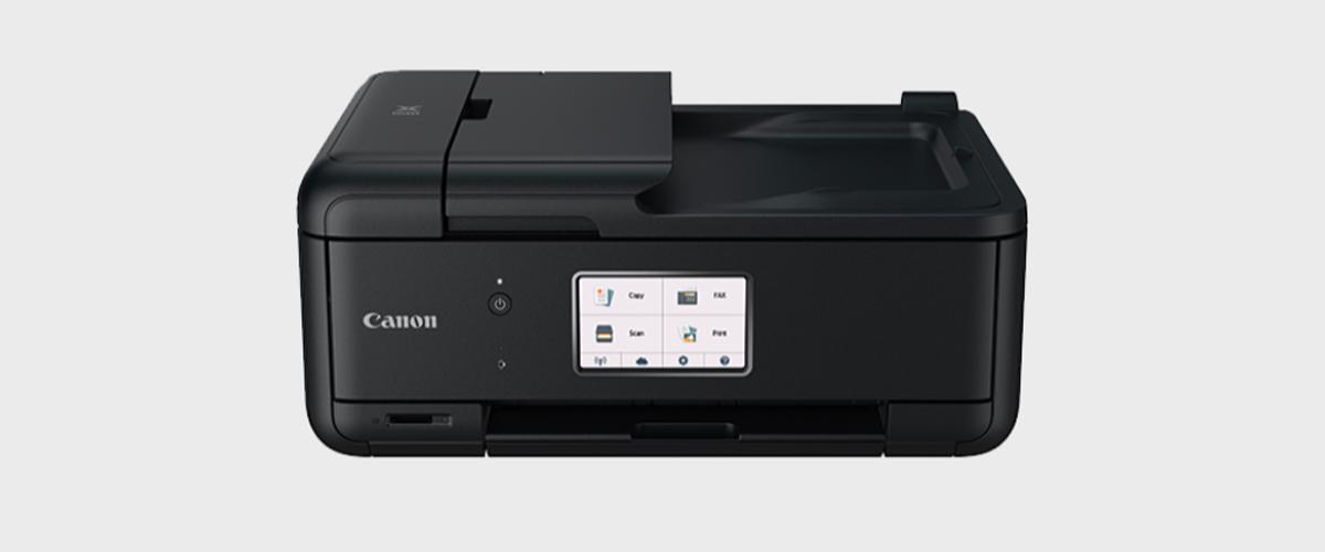 Image of a Canon Pixma TR8520 multifunction printer