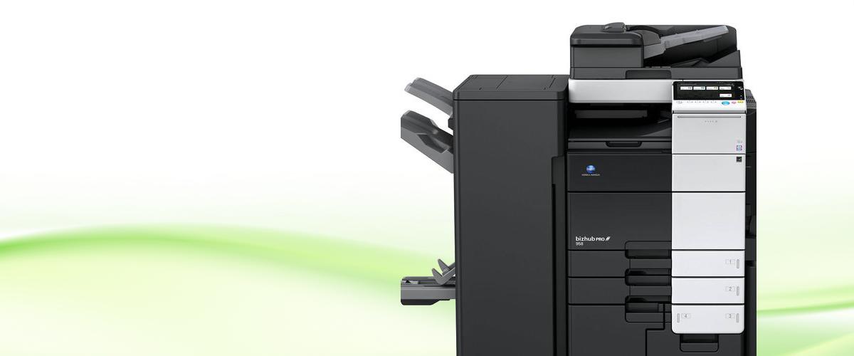 Konica Minolta multifunction printer in Toronto