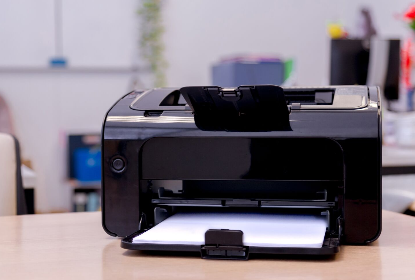 Laser printer that is not printing